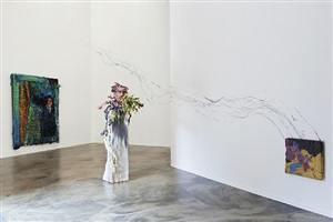 installation view jerome zodo contemporary 2013 by fabian marcaccio