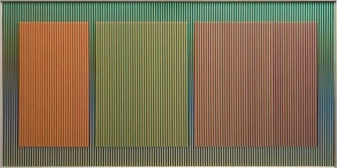 physichromie no. 1580 by carlos cruz-diez