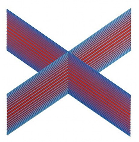 translumina blue tinted red by richard anuszkiewicz