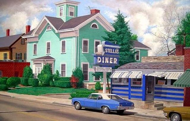 stella's diner by john baeder