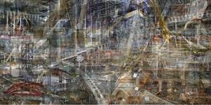 world trade center: concrete abstract no. 7 by shai kremer