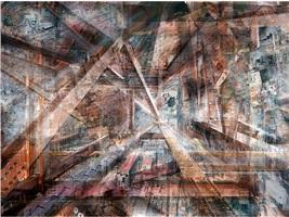 world trade center: concrete abstract no. 2 by shai kremer