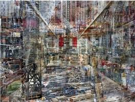 world trade center: concrete abstract no. 1 by shai kremer