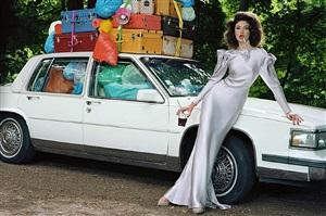 extravagant, sophisticated lady #5 by miles aldridge