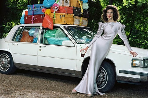 extravagant, sophisticated lady #5 by miles aldridge