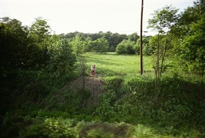 untitled from the rfk train by paul fusco
