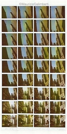 new york – linee wall street by maurizio galimberti