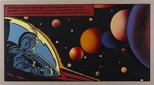 sueños ilustrados (soñé que marcel había inscrito como obra suya todo el universo...) by alvaro barrios