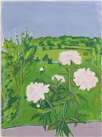 peonies by jane freilicher