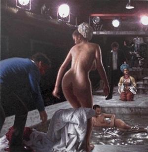 la petite baigneuse ii by françois boisrond