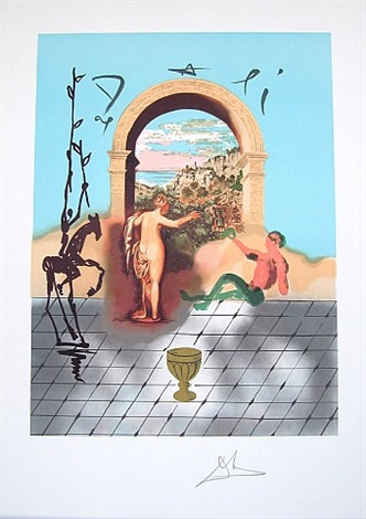 gateway to the new world by salvador dalí