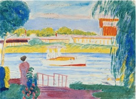 study for little ferry, n. j. by oscar florianus bluemner