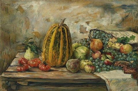 nature morte aux fruits by norbert goeneutte