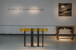 exhibition view by studio nucleo