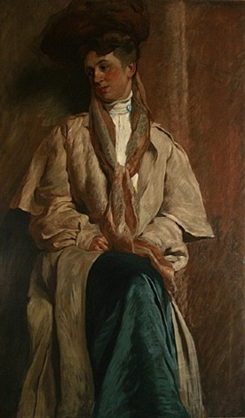 portrait of mrs. william david brown by daniel garber