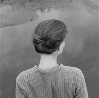 edith, chincoteague, virginia, 1967 by emmet gowin