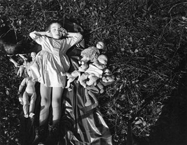 nancy, danville, virginia, 1965 by emmet gowin