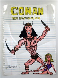 conan the barbarian by michael scoggins