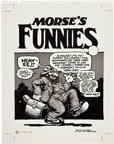 morse's funnies by robert crumb