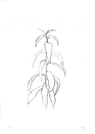 peach branch by ellsworth kelly