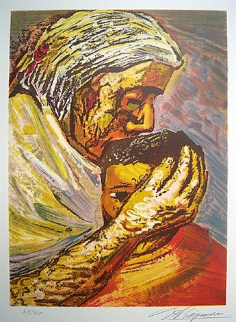 mexican suite - mother and child by david alfaro siqueiros