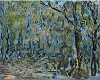 bluegreen trees by vu duc trung