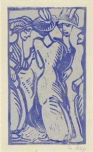meisterblätter neu entdecktgraphik des expressionismus by christian rohlfs