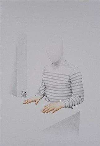 retrato con manos pintadas - mariniére by mauro piva