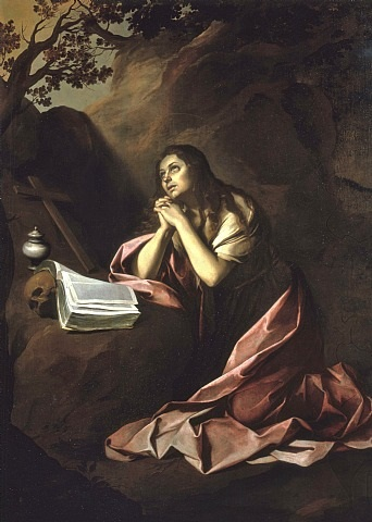 the penitent magdalen by bartolomé esteban murillo