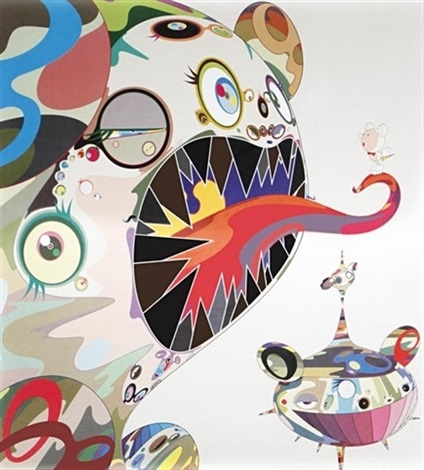 homage to francis bacon study of george dyer by takashi murakami