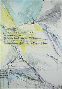 textures the written word in contemporary art by elaine de kooning
