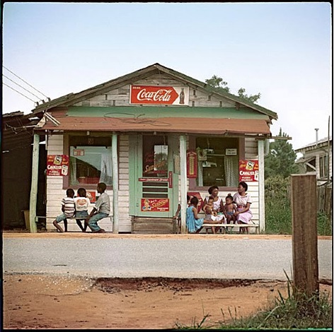 store front, mobile, alabama by gordon parks
