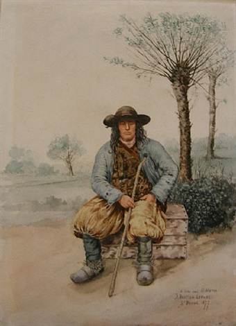 portrait of a breton by jules bastien-lepage