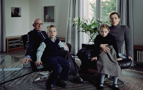 the richter family 1, köln by thomas struth