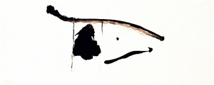 black concentrated by robert motherwell