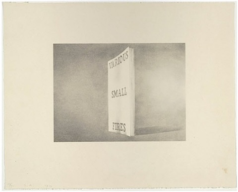 various small fires by ed ruscha