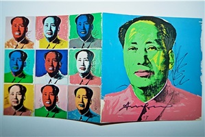 mao: announcement by andy warhol