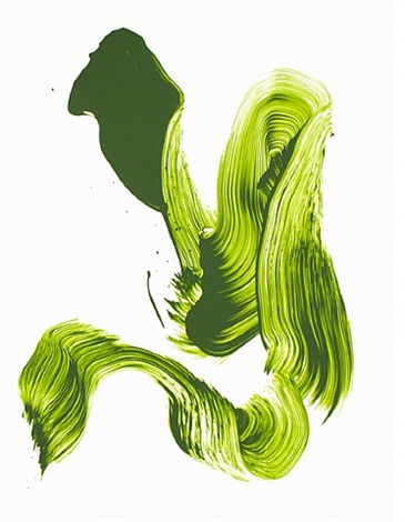 three aces - green by james nares