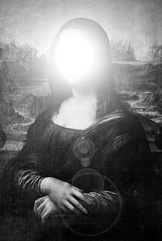 visual violation - mona lisa by zevs
