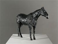 black horse by nicola hicks