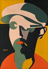 self portrait 3 (selbstbildnis 3) by karl hermann haupt
