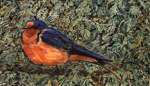barn swallow by margaret ryan