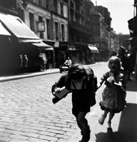rue des martyrs, paris by louis stettner
