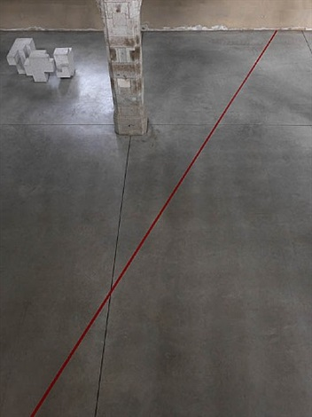 do not cross the red line by kris martin