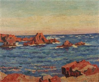 agay les roches (16) by armand guillaumin