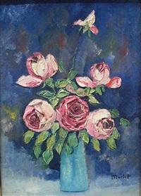 le vase de roses by elisée maclet