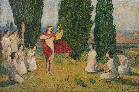orphée (13) by henri jean guillaume martin
