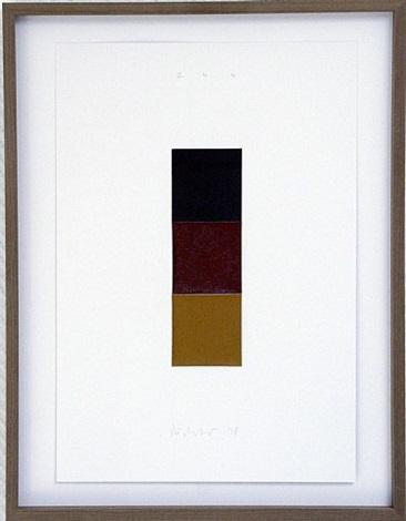 schwarz rot gold i by gerhard richter