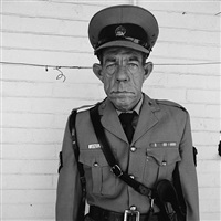 sgt f. de bruin, department of prisons employee by roger ballen