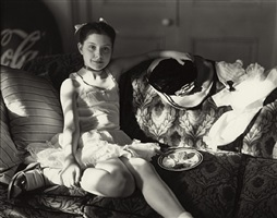 untitled /at twelve/ little birthday cake by sally mann